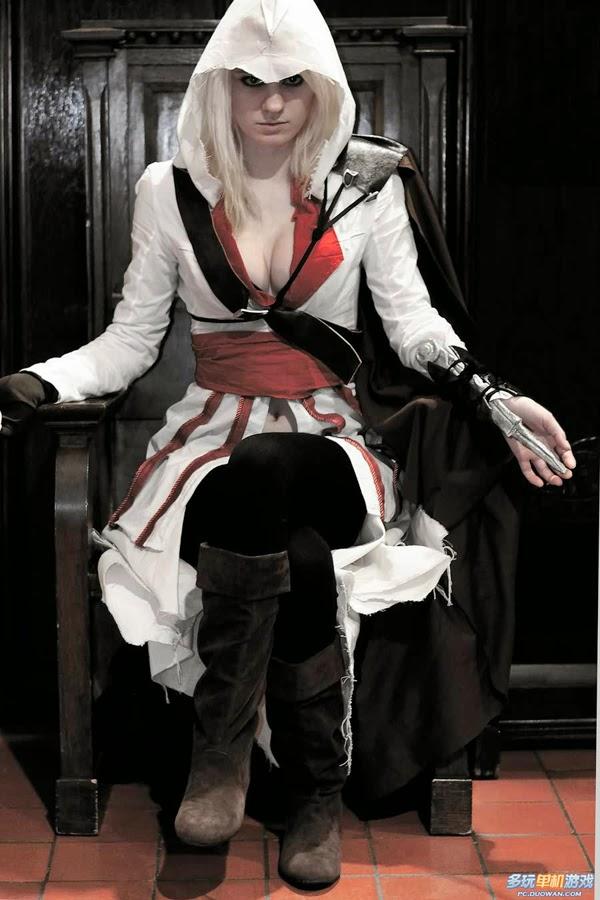 Bộ cosplay tuyệt đẹp về sát thủ Ezio phiên bản nữ - Ảnh 4