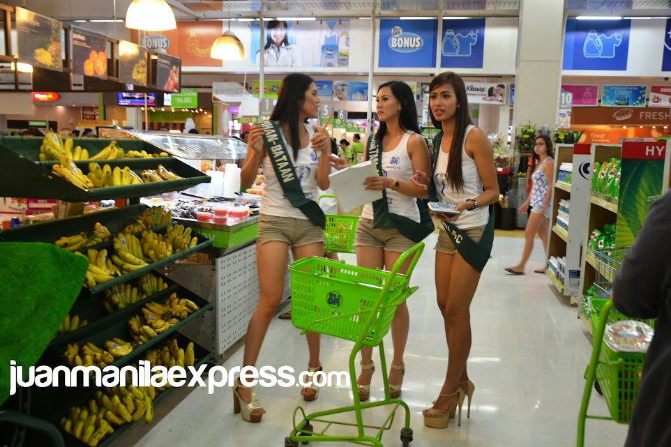 MISS PHILIPPINES EARTH 2015 CANDIDATES IN ACTION.