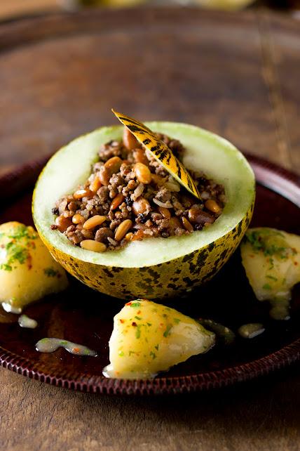 stuffed melon