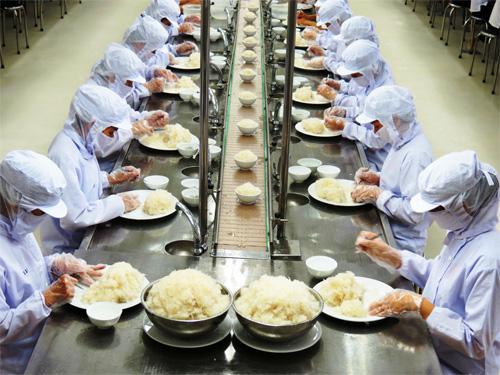 Đơn hàng chế biến cơm hộp cần 75 nữ làm việc tại Hiroshima Nhật Bản tháng 08/2017
