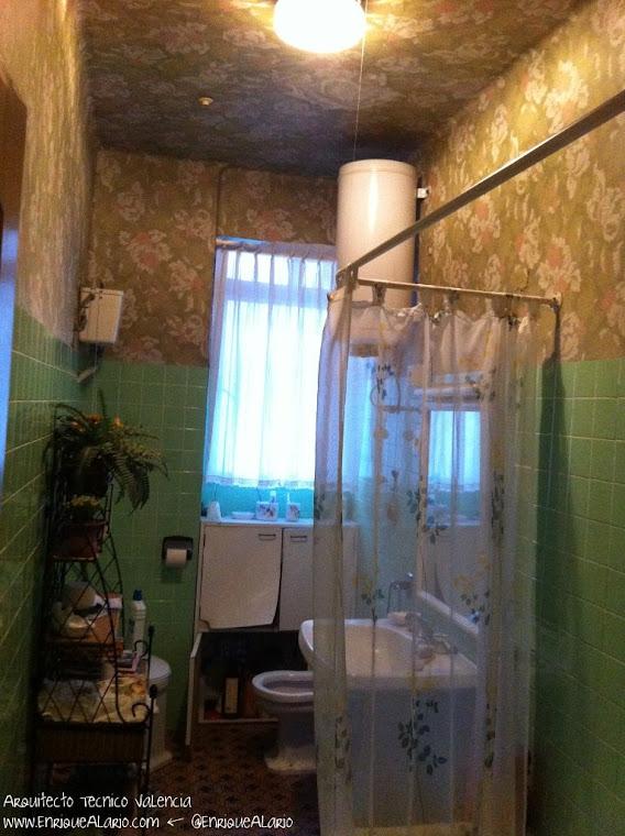 Baño principal de la vivienda a reformar