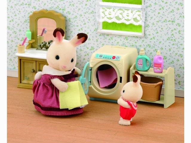 Máy giặt đồ chơi cho bé gái