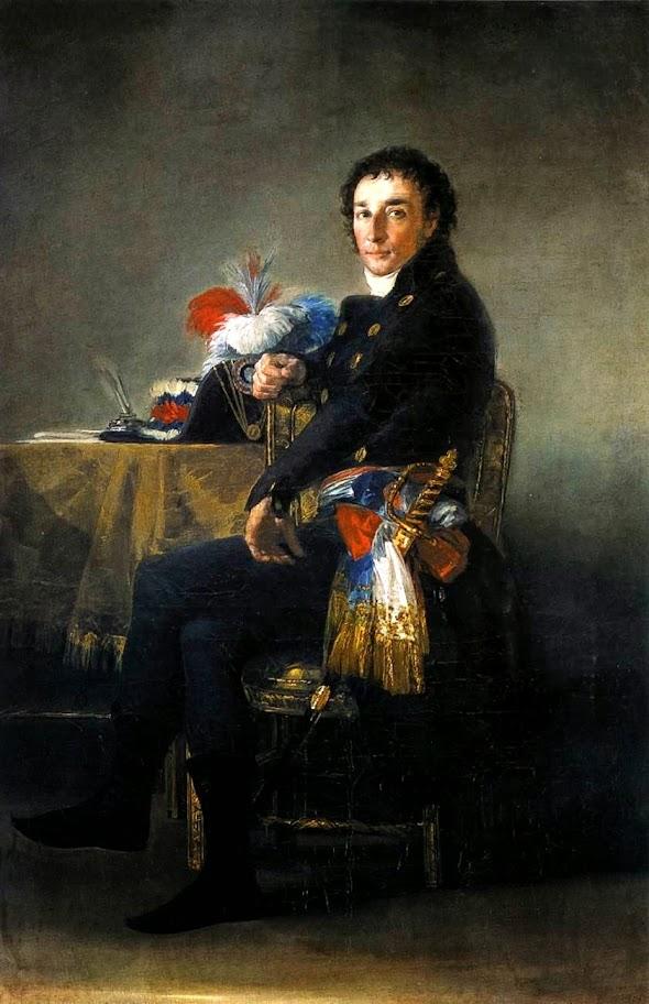 Francisco Goya - Ferdinand Guillemardet.