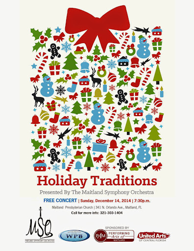 The Maitland Symphony Orchestra's presents Holiday Traditions