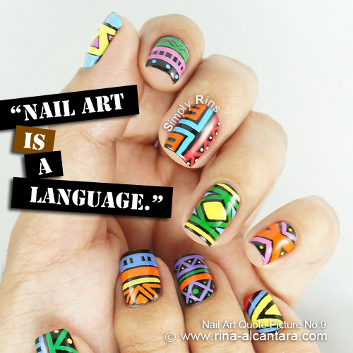 Nail Art Quote Picture No.9