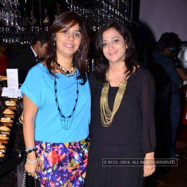 Moneesha and Rosina during an event called A New Perspective on Creativity, held at Le Meridien in Bangalore. <br />