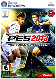Capa do Pro Evolution Soccer 2013   PC Full + Crack Tradução e Narraçãolancamentos games
