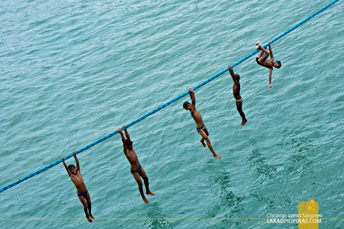 Kids Playing at Iligan City's Port