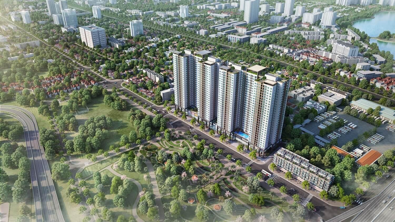 Phương Đông Green Park view trực diện công viên Yên Sở