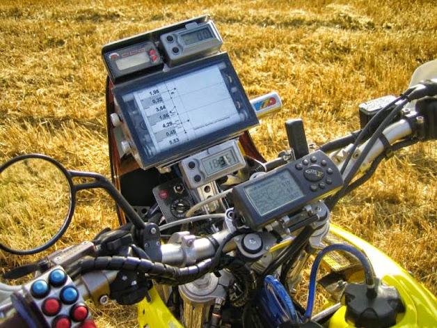 MD Roadbook elektrisch mit Fernbedienung