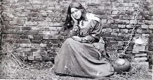 Santa Teresa de Lisieux como Juana de Arco