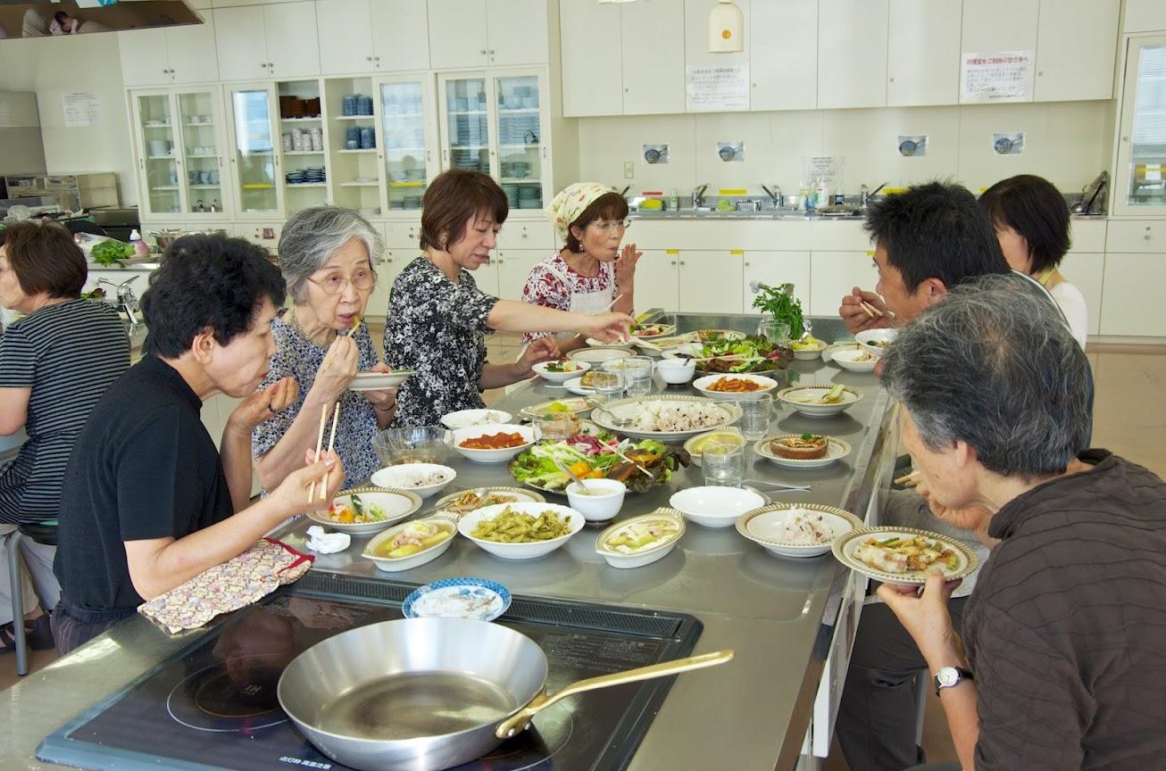 素晴らしいお料理の試食&交流会