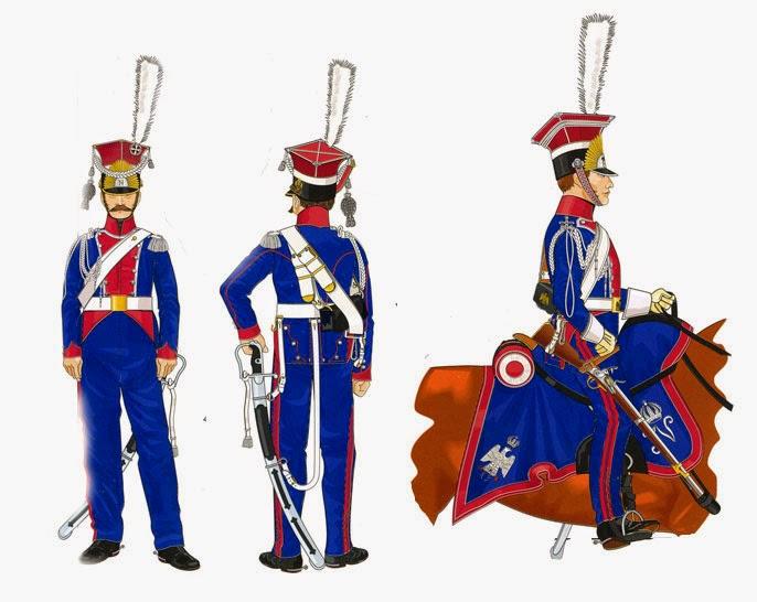 Польские уланы Гвардии Наполеона
