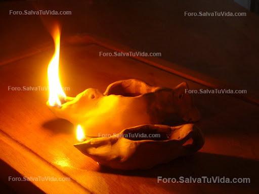 Trabajando la arcilla - Lámpara de Aceite DSC03671