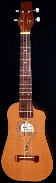 RCI Richard Cross Shapleywood Madrone Tenor Ukulele Corner