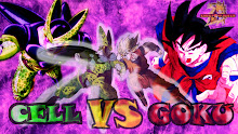 Cell Goku Goku vs Cell Wallpaper