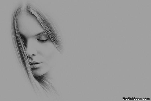 thơ cô gái buồn vì tình dở dang