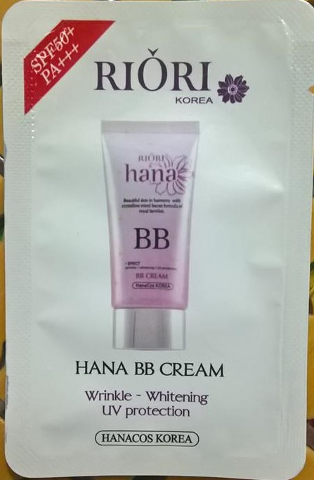 gói test Riori BB Cream
