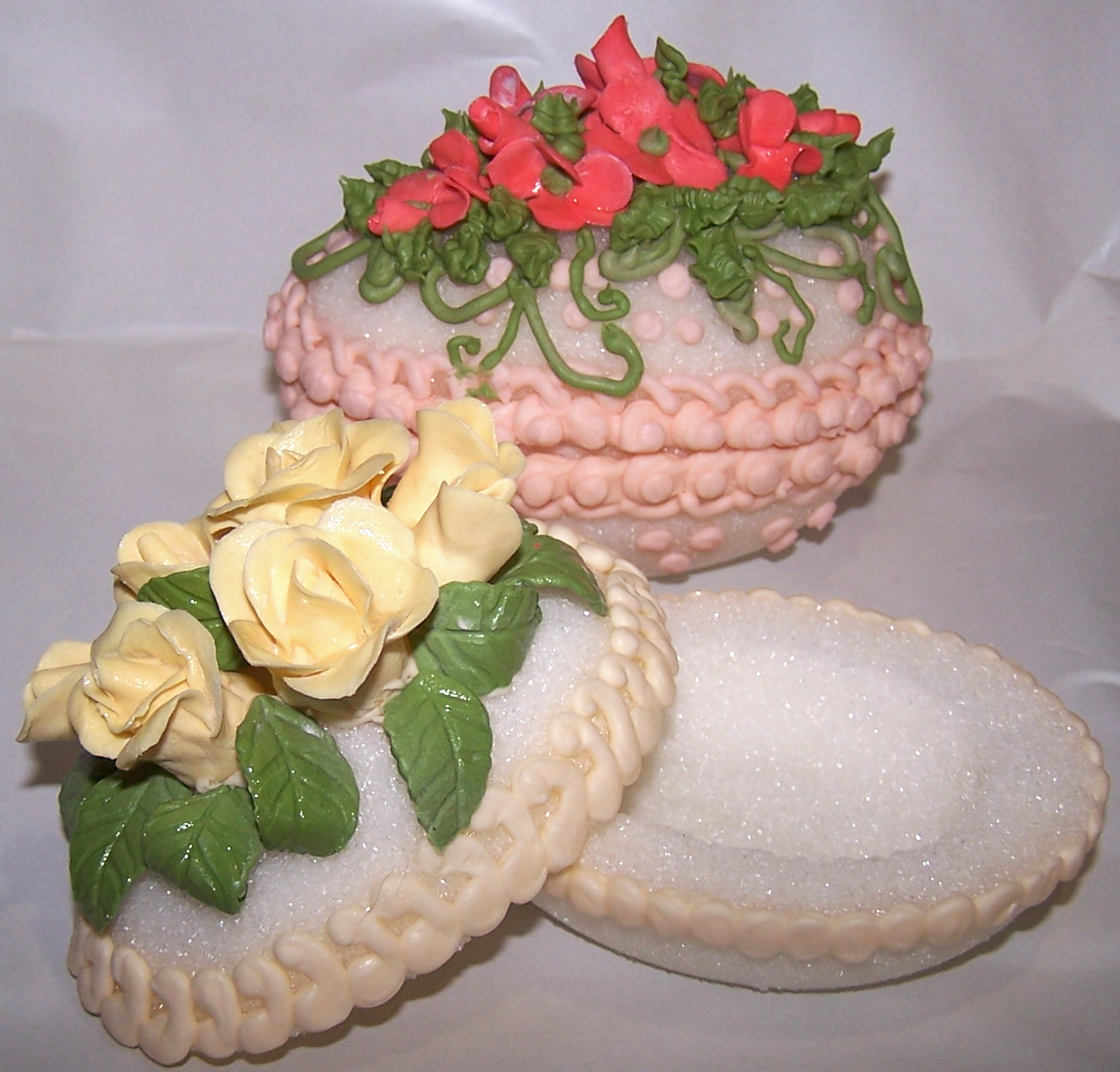 Truly Scrumptious Desserts By Joanne: Decorated Sugar Eggs