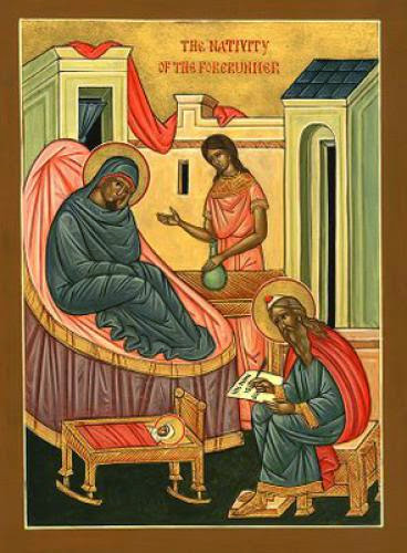 Nativity Of The Holy Glorious Prophet Forerunner And Baptist