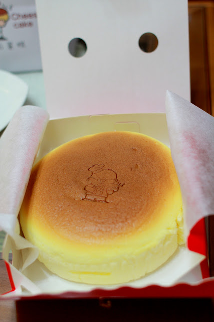 食記.台北.Uncle Tetsu's Cheese Cake 現做起司蛋糕