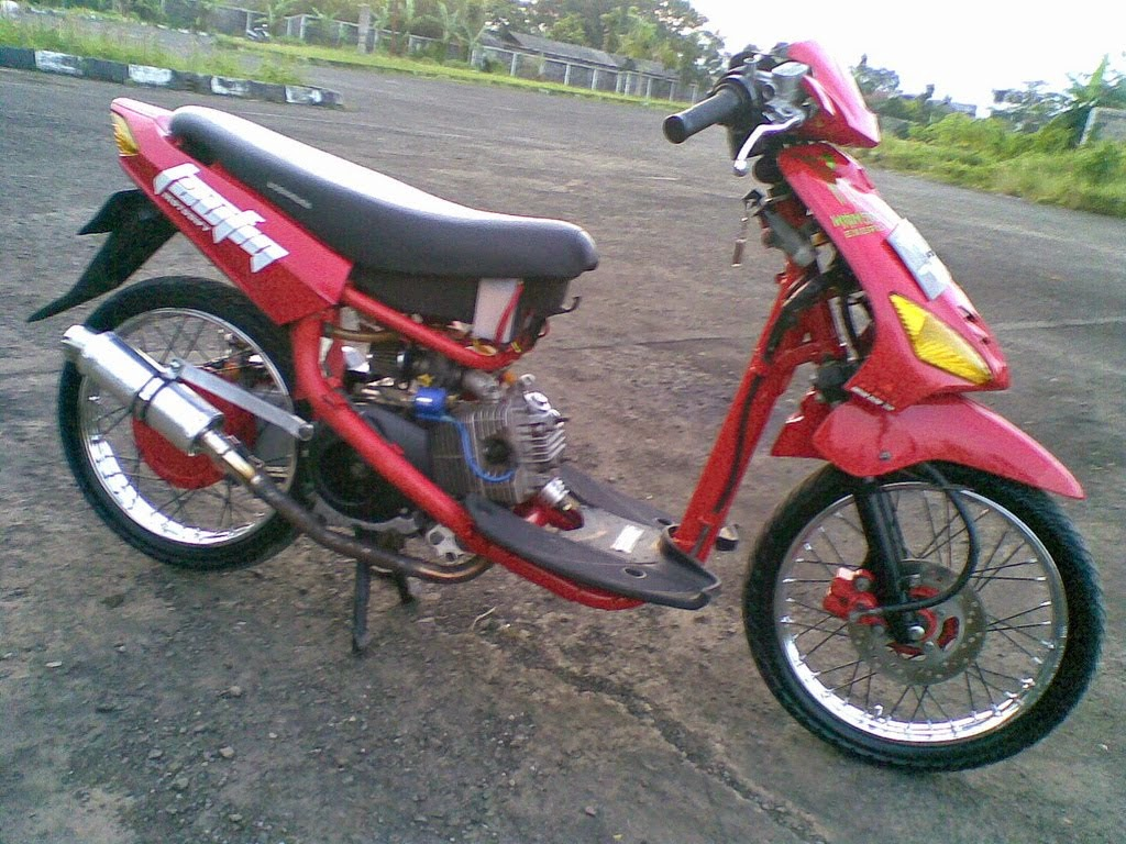 modifikasi motor honda beat 2010