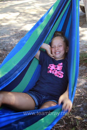 Crazy Loz in the hammock