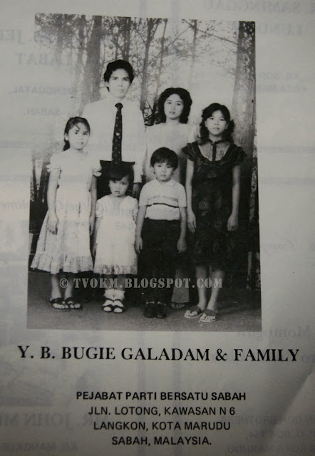 YB.Bugie Galadam with family