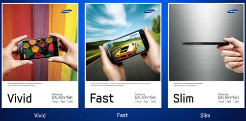 Ciri-ciri menarik yang ada pada Samsung Galaxy S II