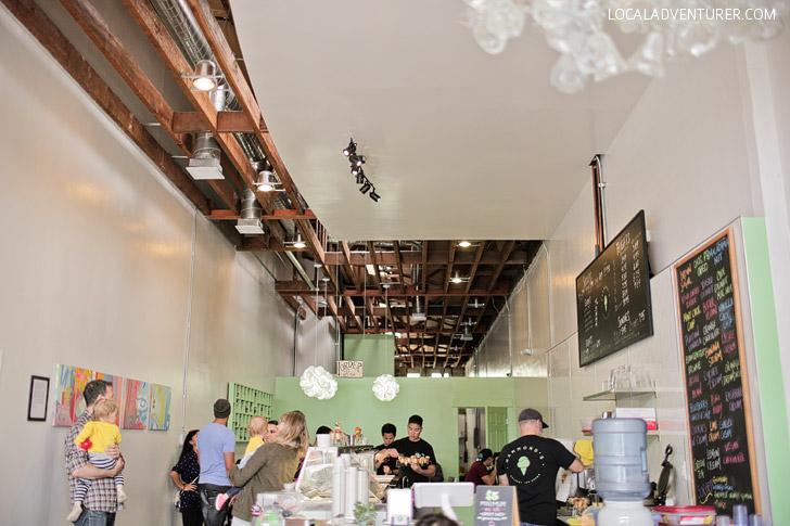 Hammonds Gourmet Ice Cream (Best Eats in San Diego).