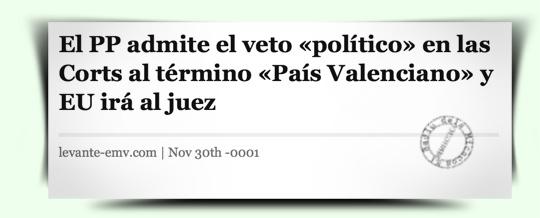 Notícia Levante-EMV