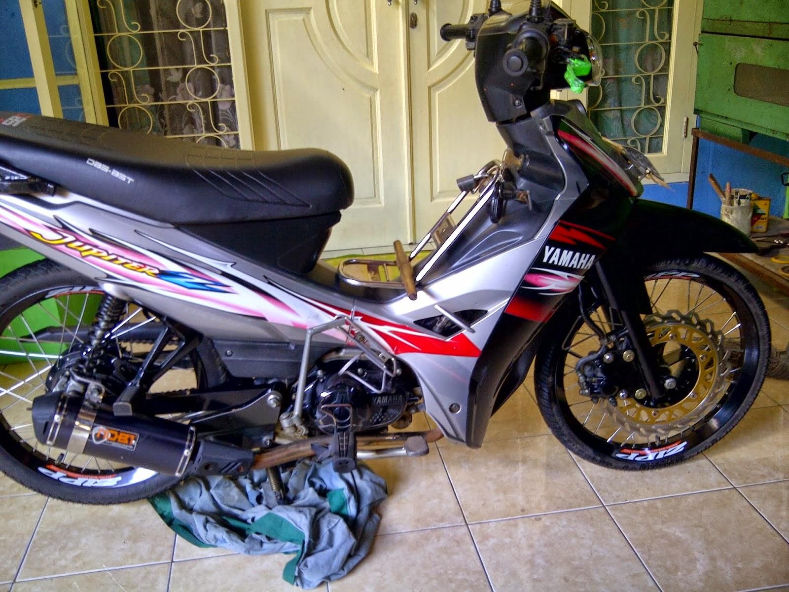 Modification Vega R New Modifikasi Standar Vega R New