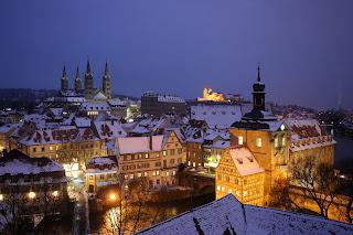Ausblick vom Geyerswörth- Turm aufs winterliche Bamberg (Feldrapp-Pics 002)