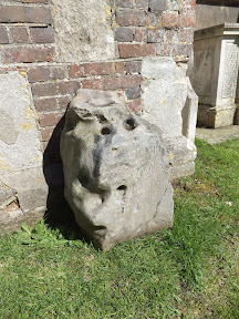 Stone at Dedham Church