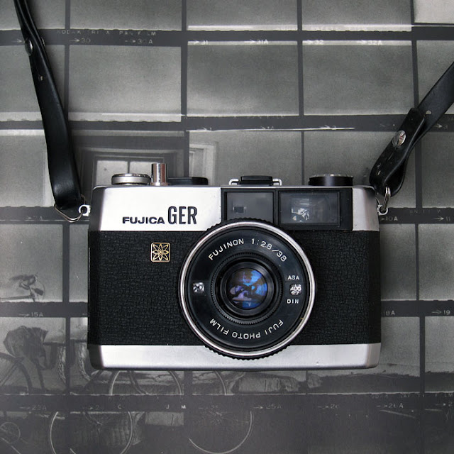 Fujica GER 35mm camera - Photograph by Tim Irving