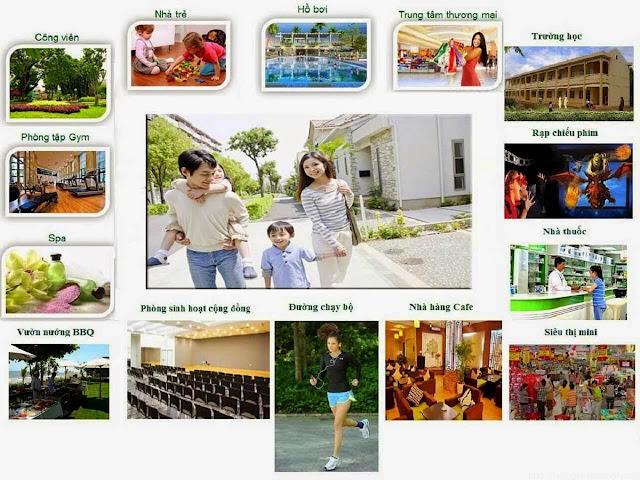 Tiện ích dự án chung cư b1.4 HH01 thanh hà