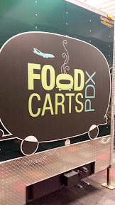 Food Carts PDX, the food carts available presecurity at the Portland Airport PDX include Love & Whisky, Koi Fusion, and Pok Pok Wing
