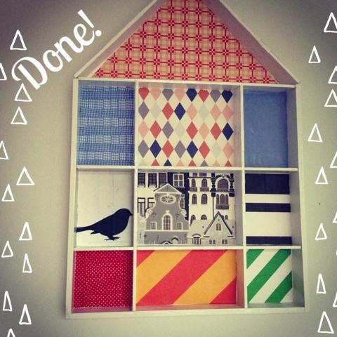DIY wallshelf houseshelf hushylla talohylly