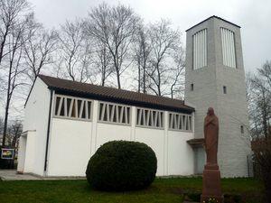 Parish Assumption of Mary in Neu-Ulm, Bayern, Germany