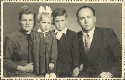 rodzina Jerzego Cienciały