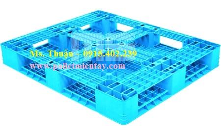 Pallet nhựa nhập khẩu Malaysia N4-1210LA2