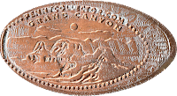 Grand Canyon penny