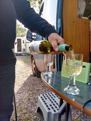Camping  at Minnows Caravan Park
