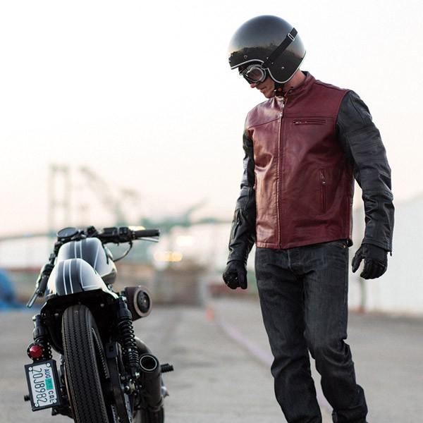 áo da moto