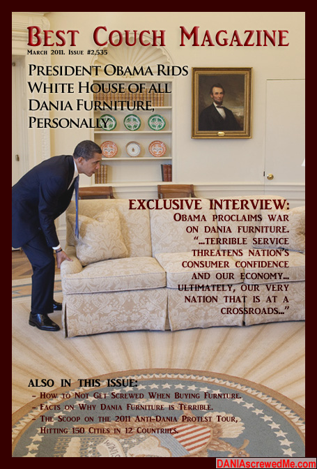 how dania furniture ruined my life forever best couch magazine exclusive president obama goes. Black Bedroom Furniture Sets. Home Design Ideas