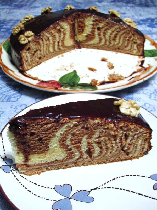 Mission Food Zebra Cake