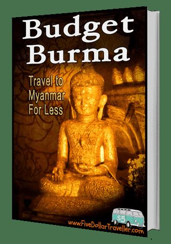 Budget Burma Travel Guide (3D Cover)