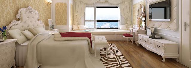 Phòng ngủ chung cư Louis City