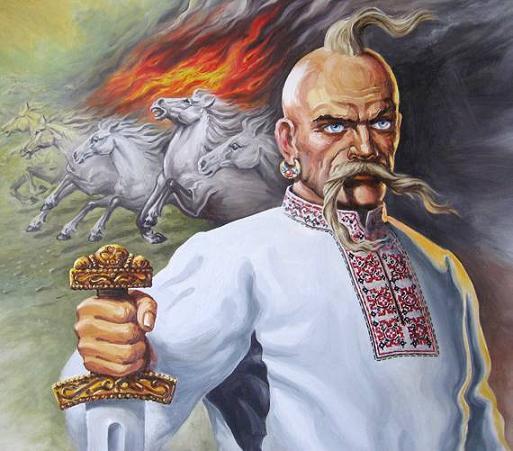 Картина - Князь Светослав, худ. Ильин П.В.