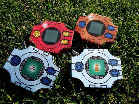 Digimon Digivice Paper Models